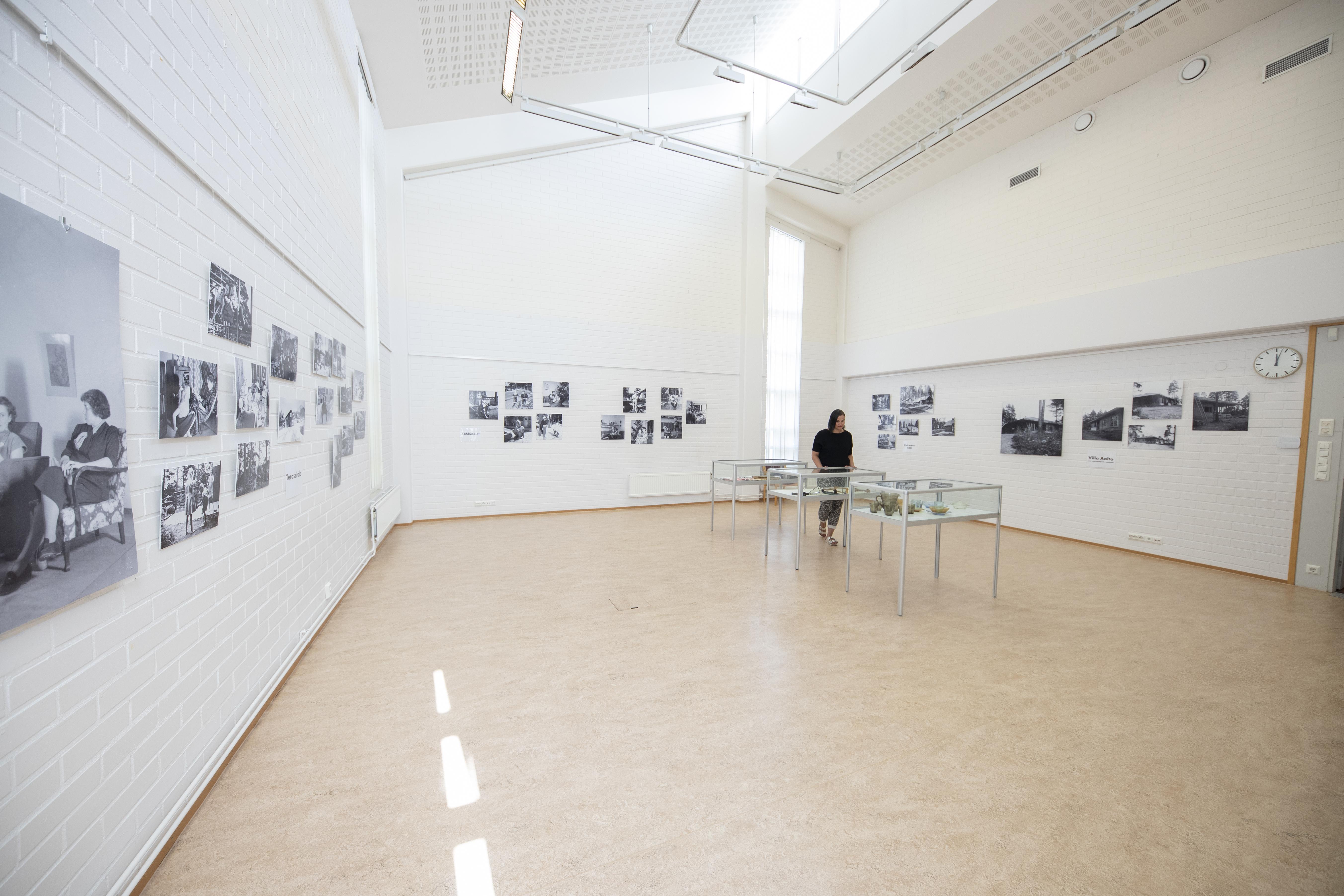 Euran kirjaston näyttelytila