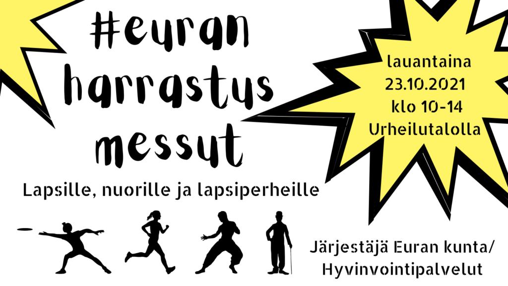 Euran harrastusmessujen 2021 logo